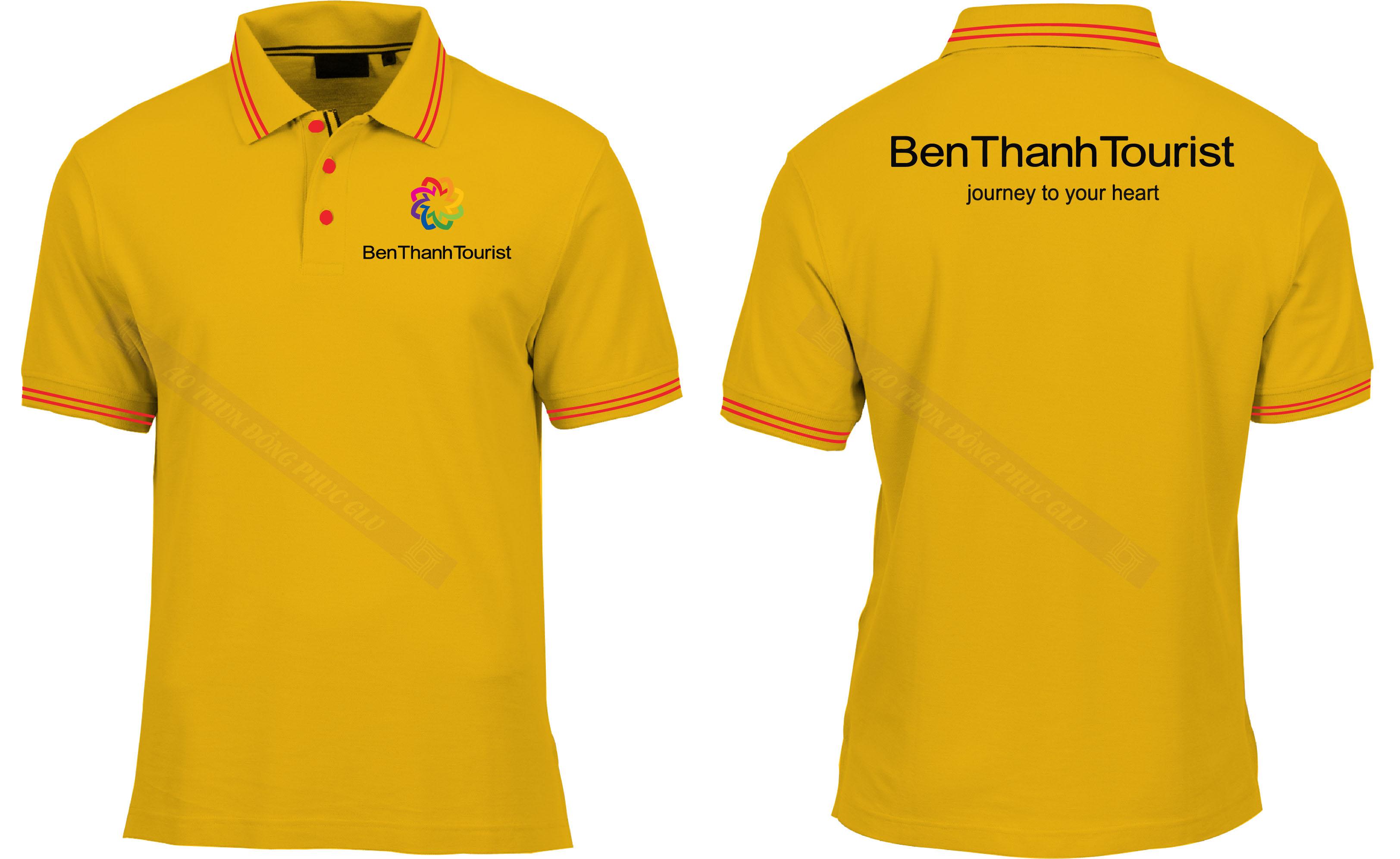 AO THUN BEN THANH TOURIST áo thun đồng phục đẹp