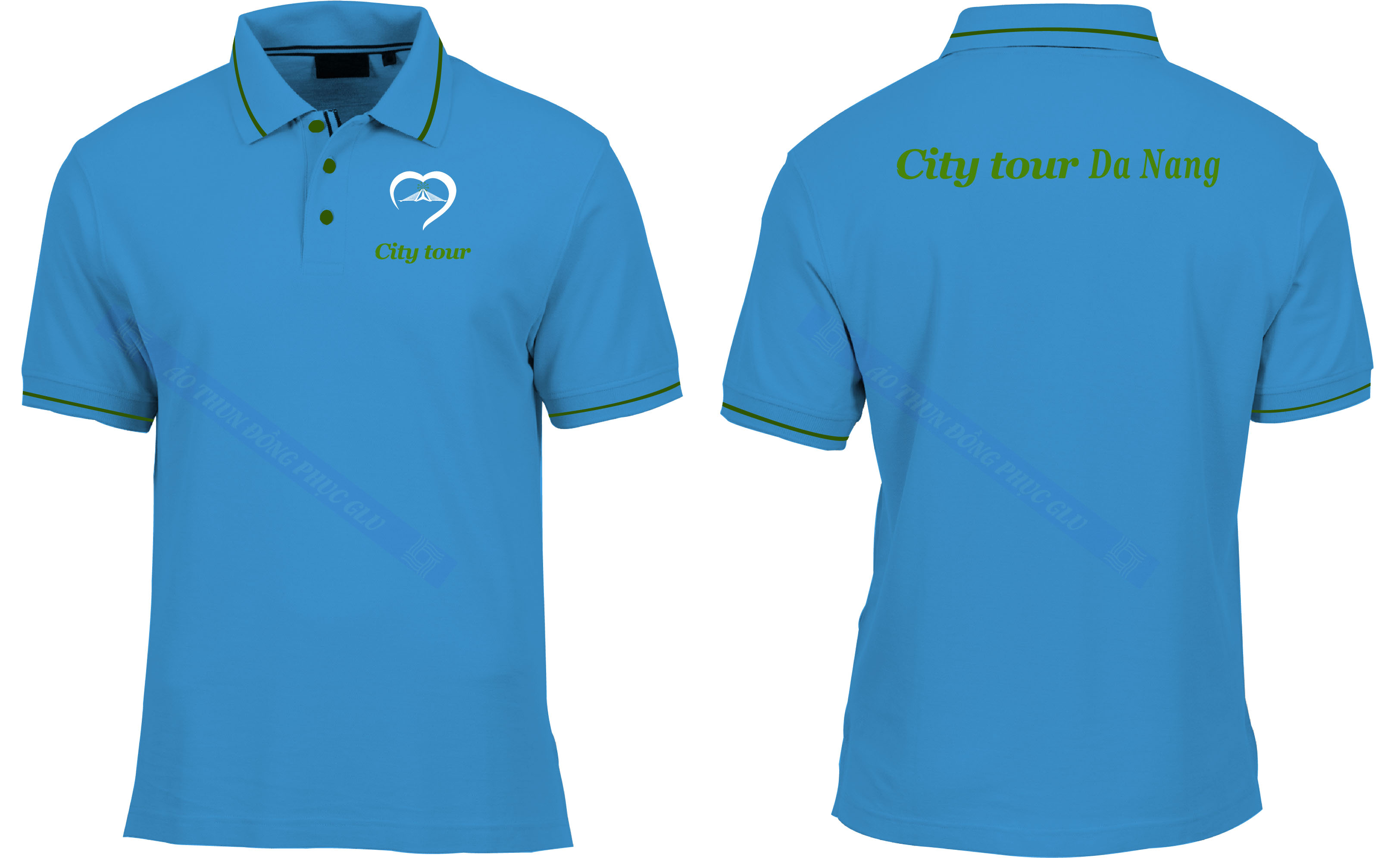 AO THUN CITY TOUR DANANG áo thun đồng phục đẹp