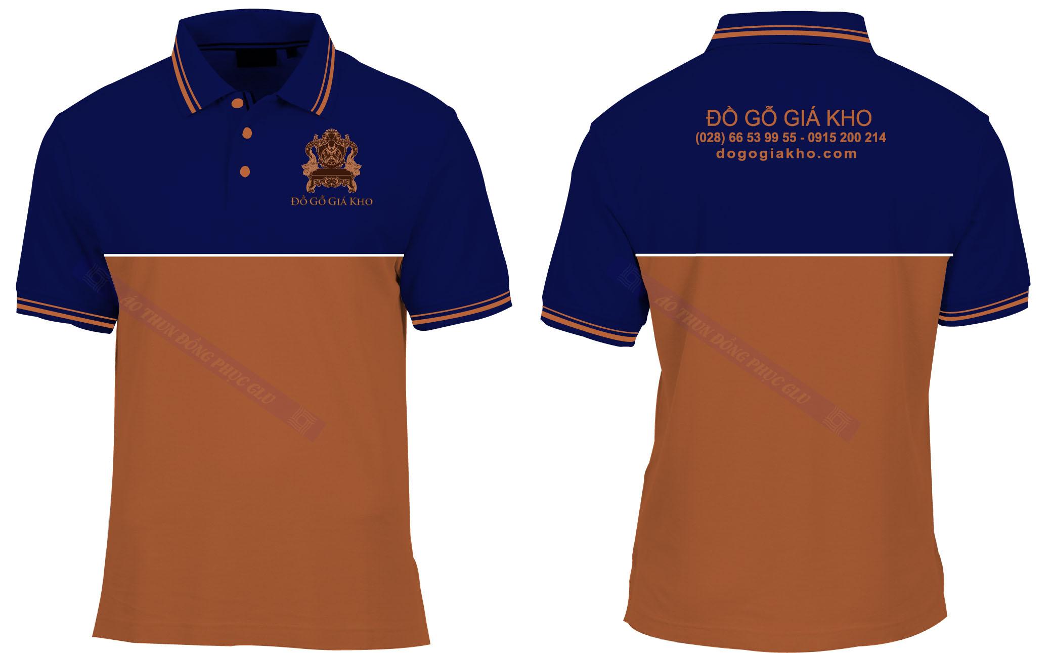 AO THUN DO GO GIA KHO áo thun đồng phục đẹp