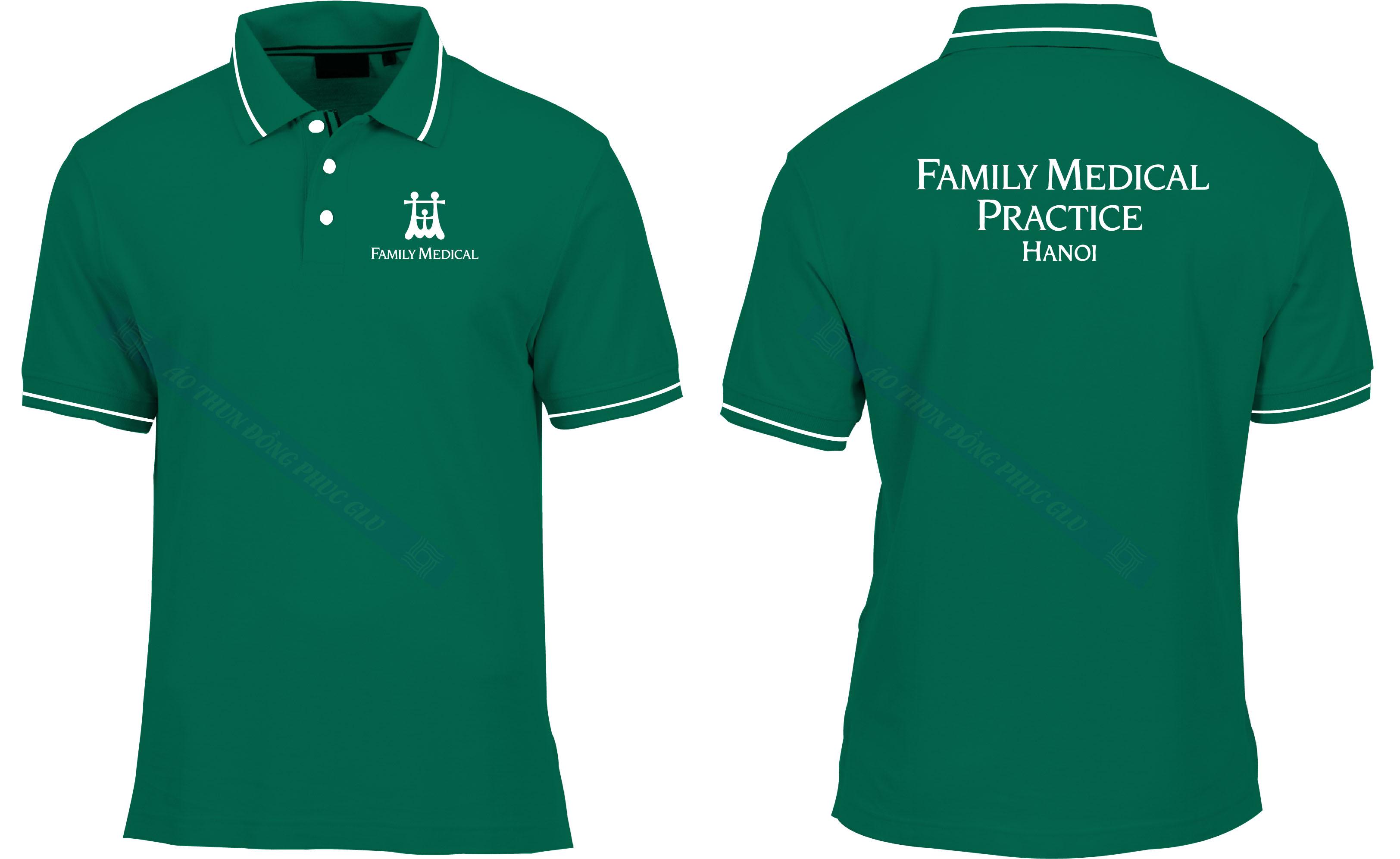 AO THUN FAMILY MEDICAL áo thun đồng phục đẹp
