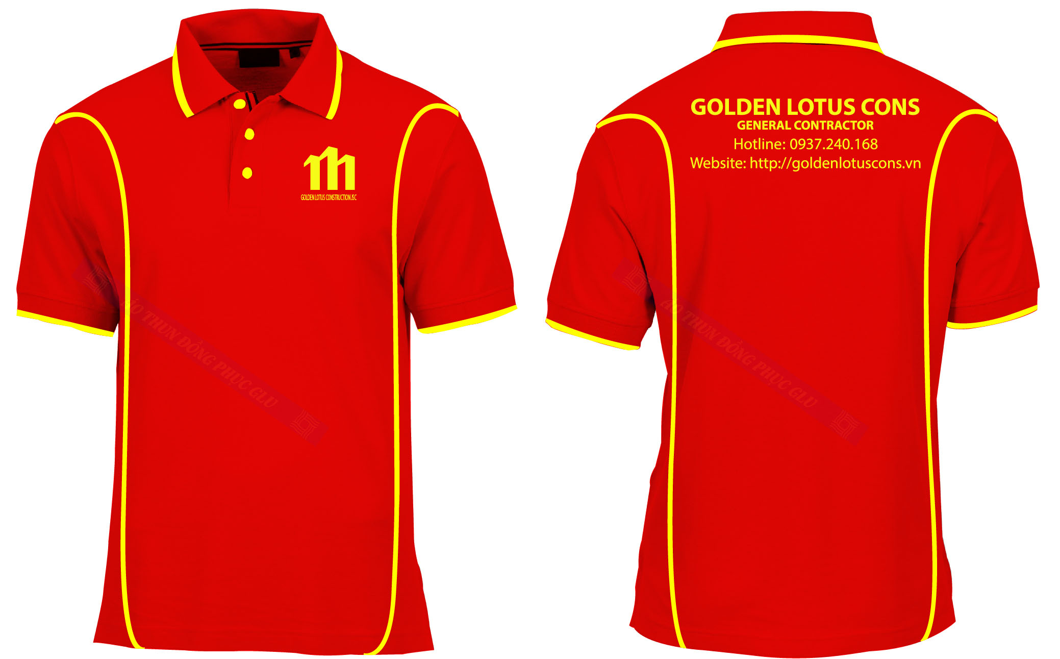 AO THUN GOLDEN LOTUS áo thun đồng phục đẹp