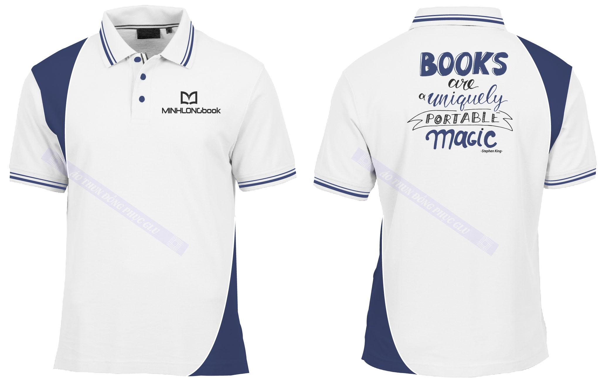 AO THUN MINH LONG BOOK 2 đồng phục công ty đẹp