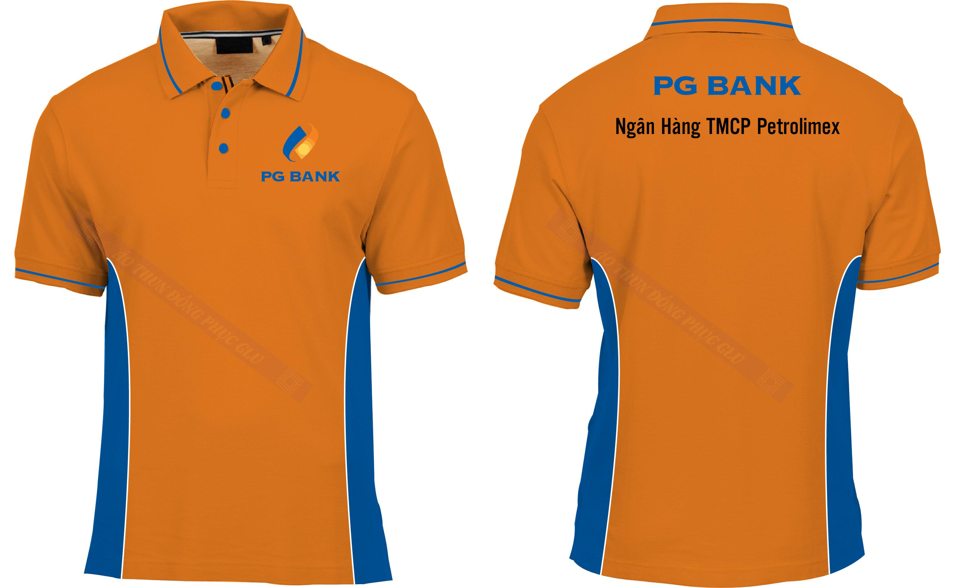 AO THUN NGAN HANG PG BANK đồng phục công ty đẹp