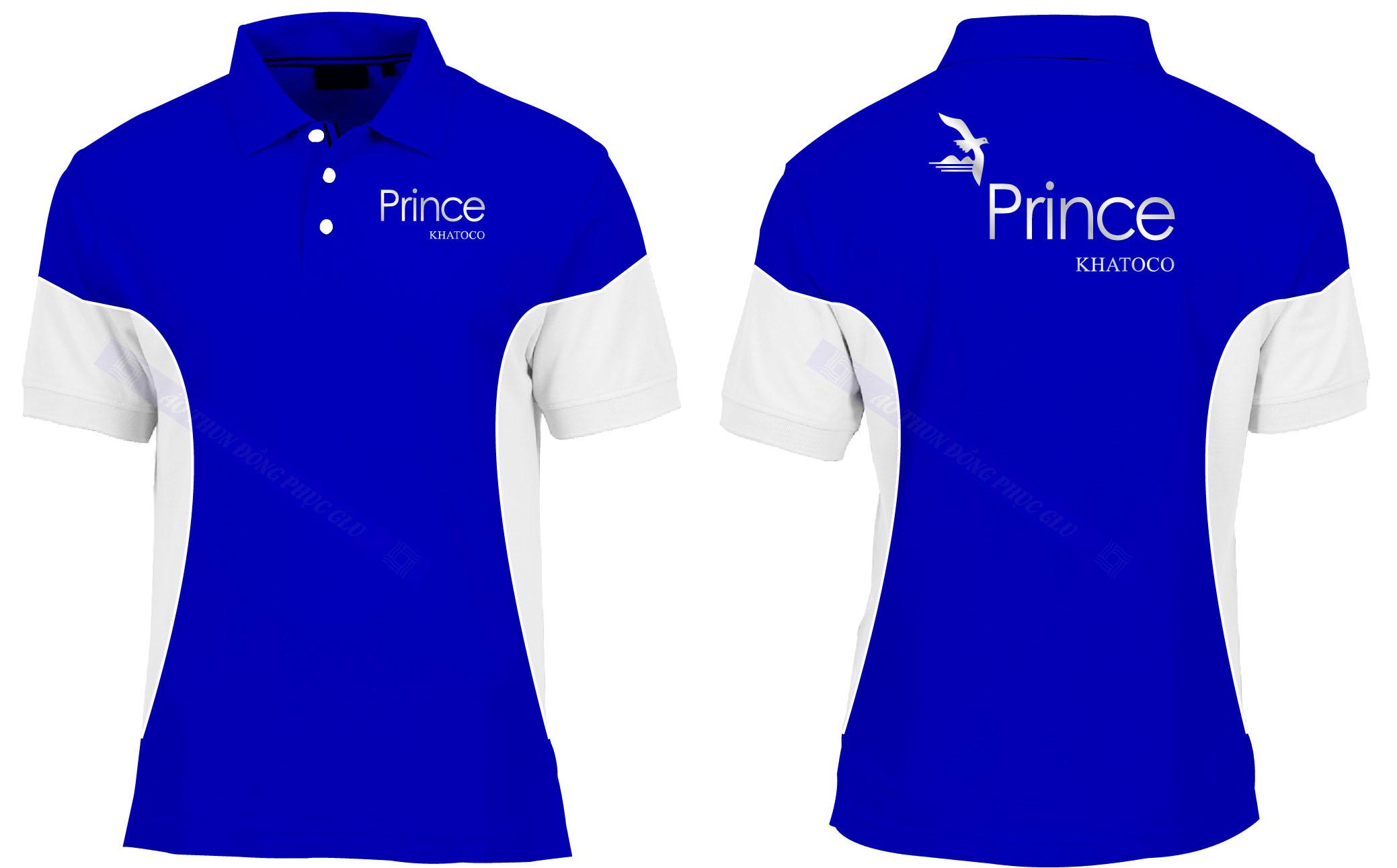 AO THUN PRINCE đồng phục công ty đẹp