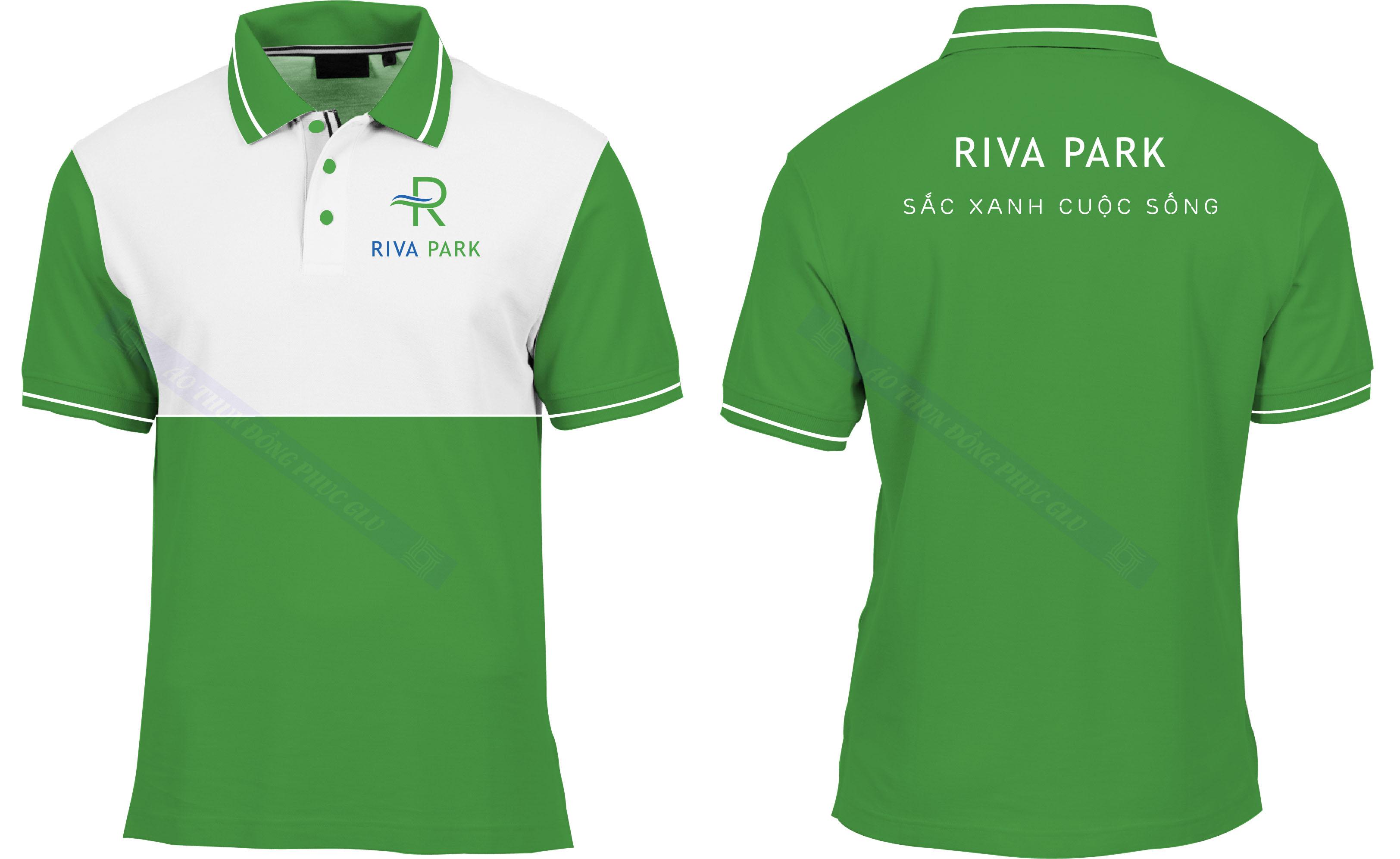 AO THUN RIVA PARK đồng phục công ty đẹp