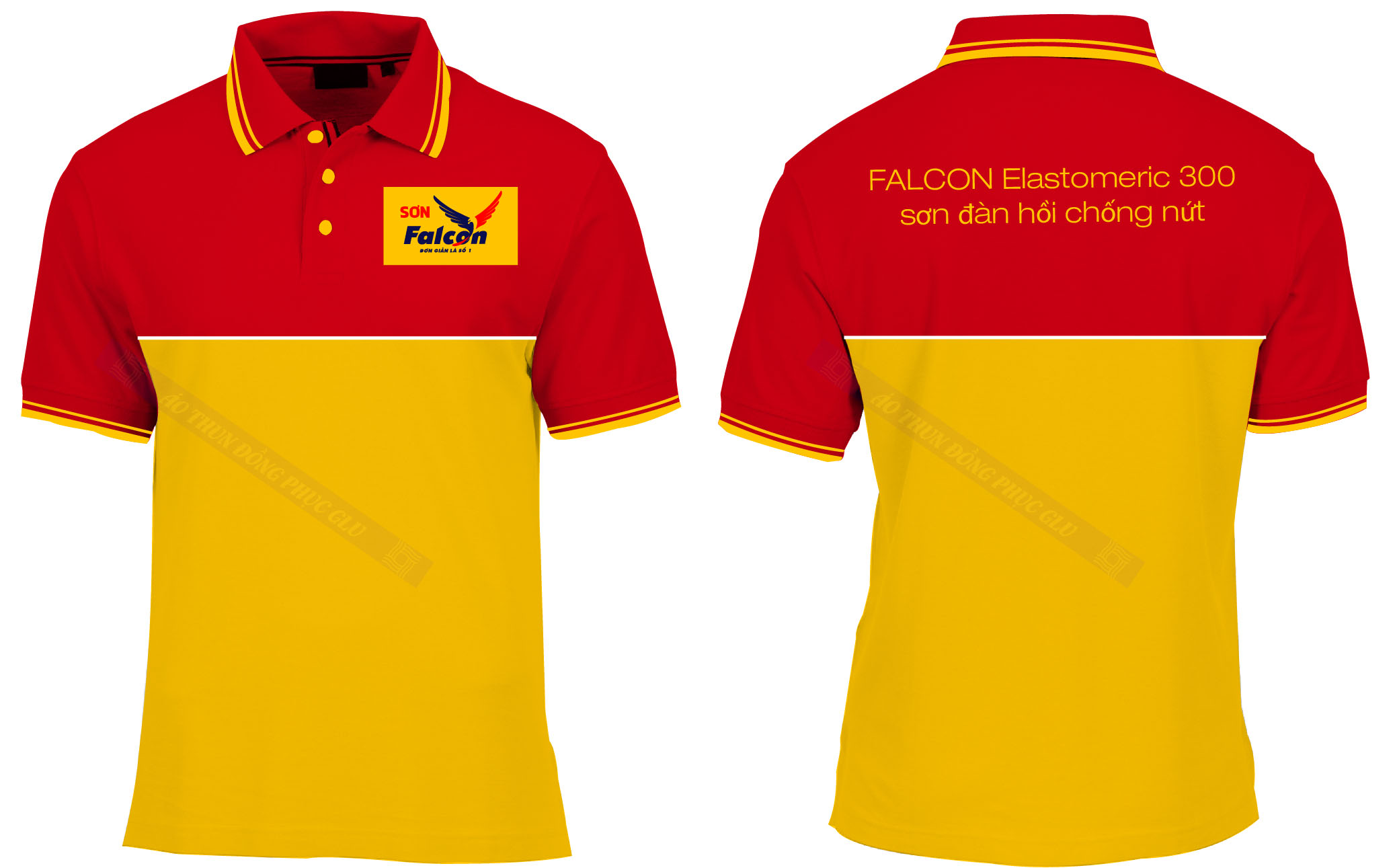 AO THUN SON FACON 2 đồng phục công ty đẹp