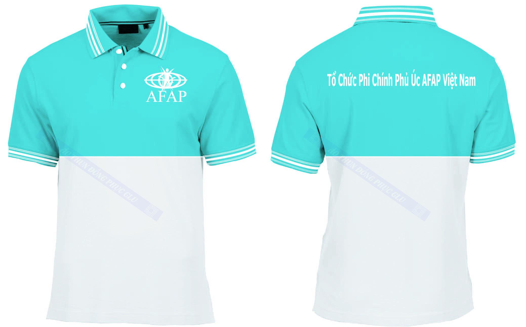 AO THUN TO CHUC PHI CHINH PHU UC AFAP đồng phục công ty đẹp
