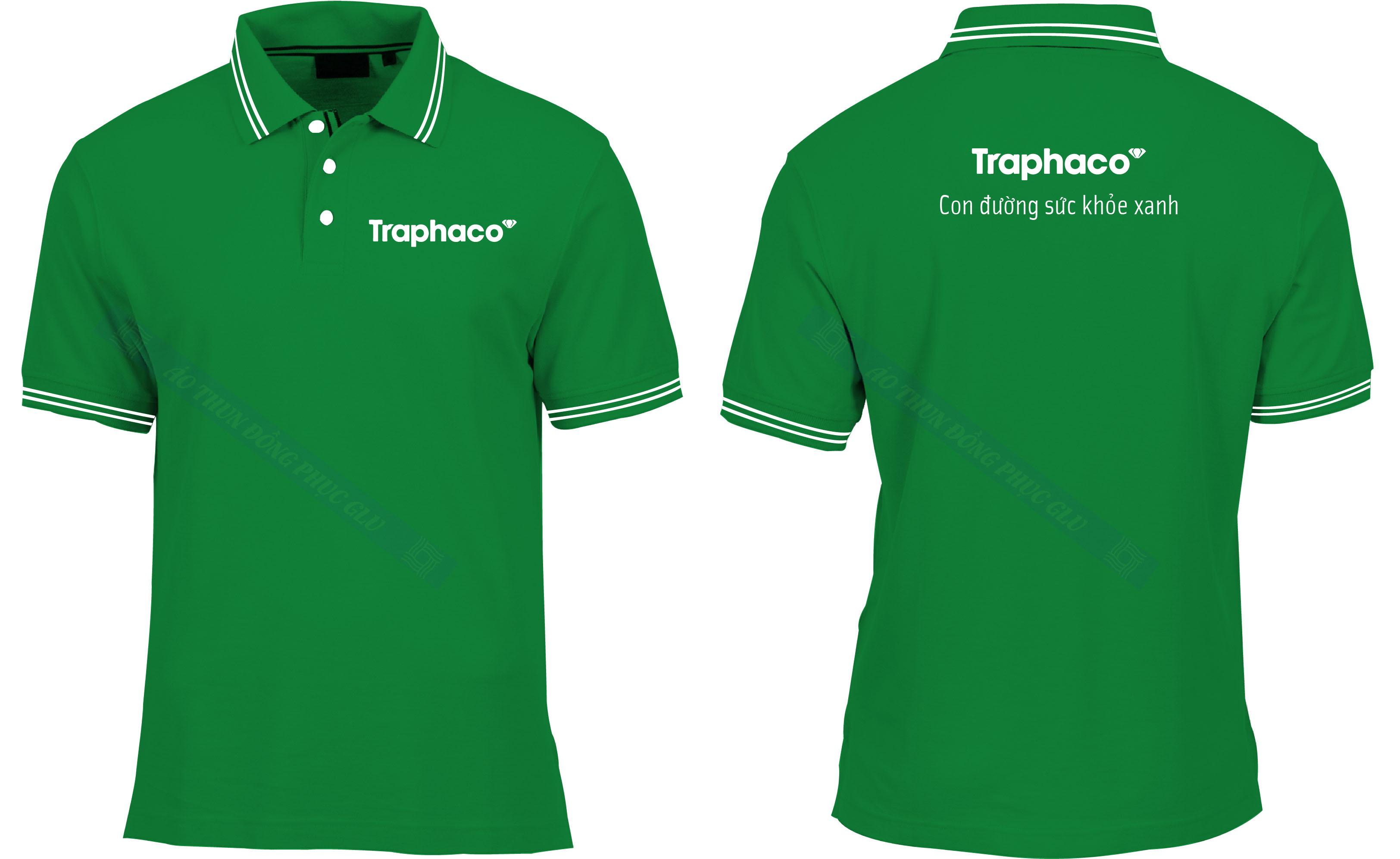 AO THUN TRAPHACO đồng phục công ty đẹp