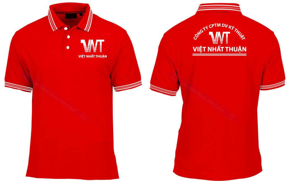 Áo thun đồng phục công ty Việt Nhất Thuận