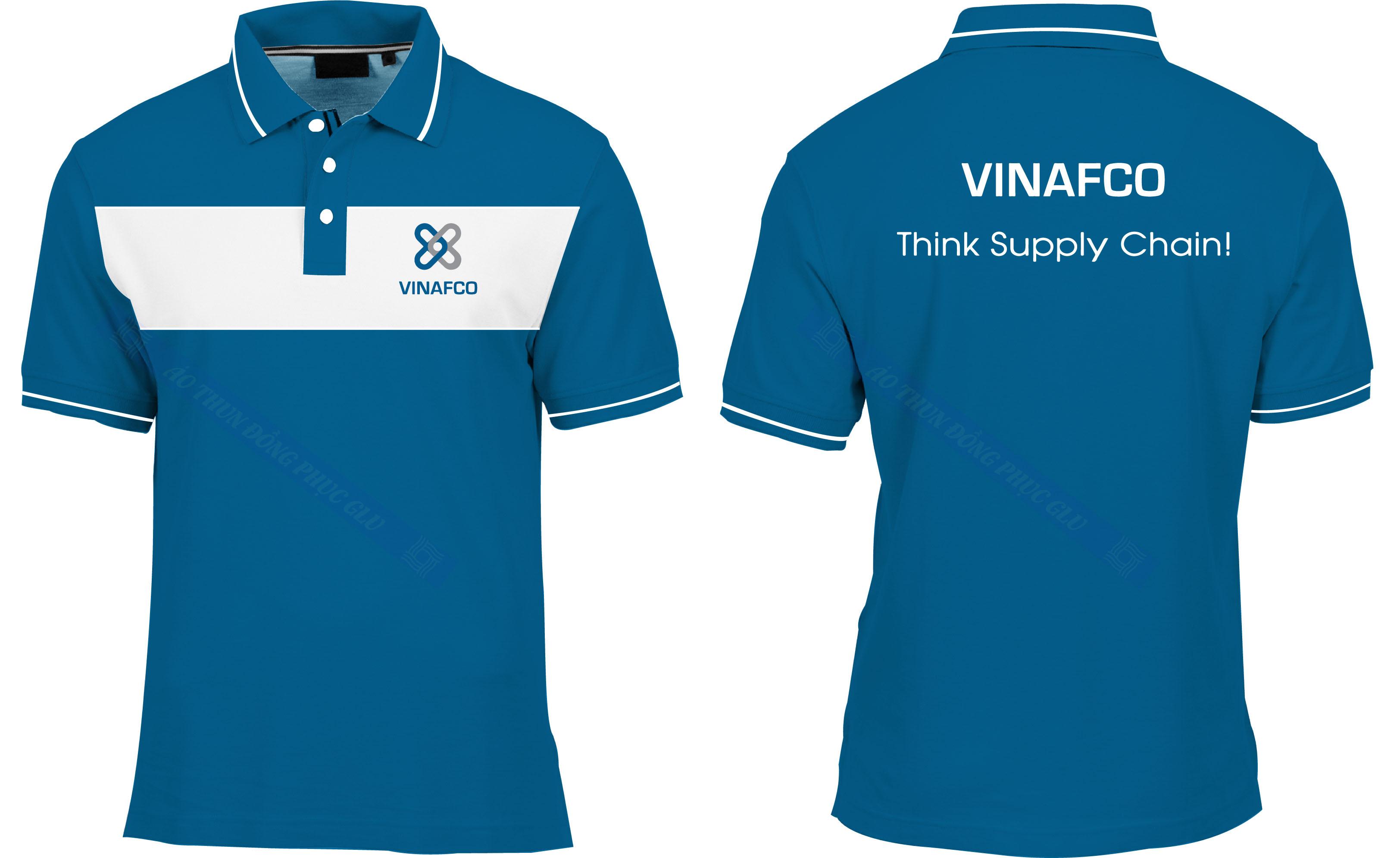 AO THUN VINAFCO đồng phục công ty đẹp