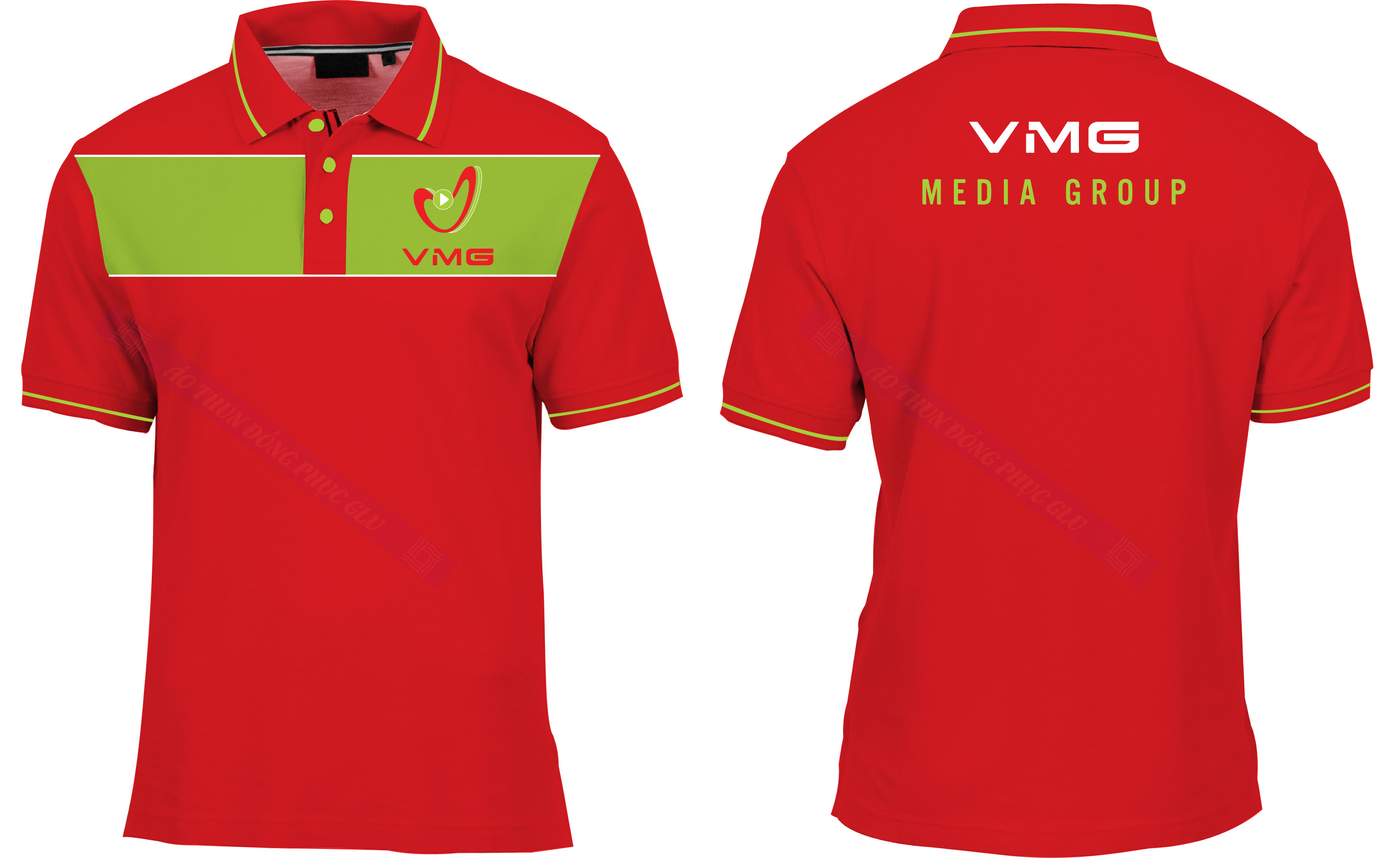 AO THUN VMG đồng phục công ty đẹp