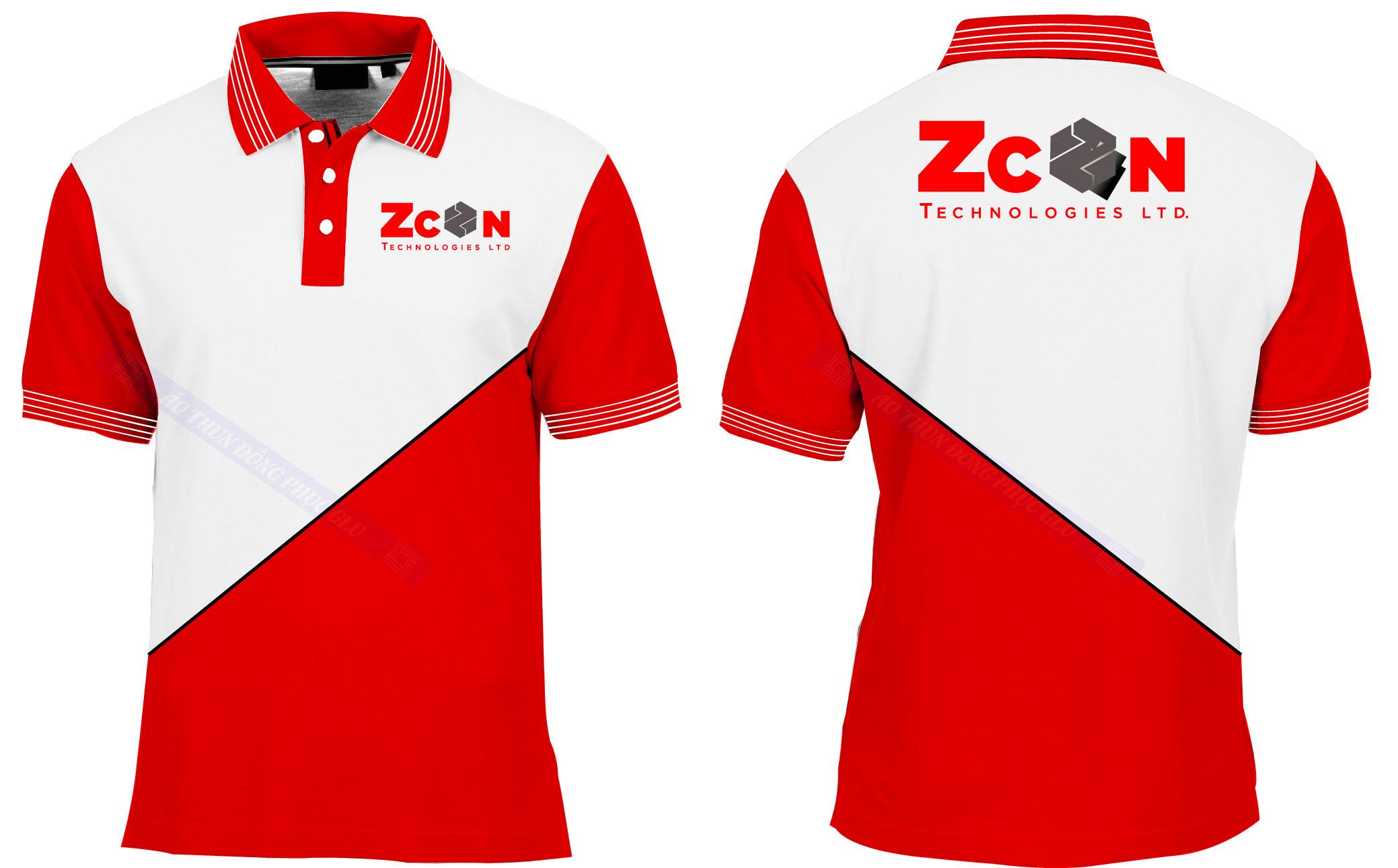 AO THUN ZCON đồng phục công ty đẹp