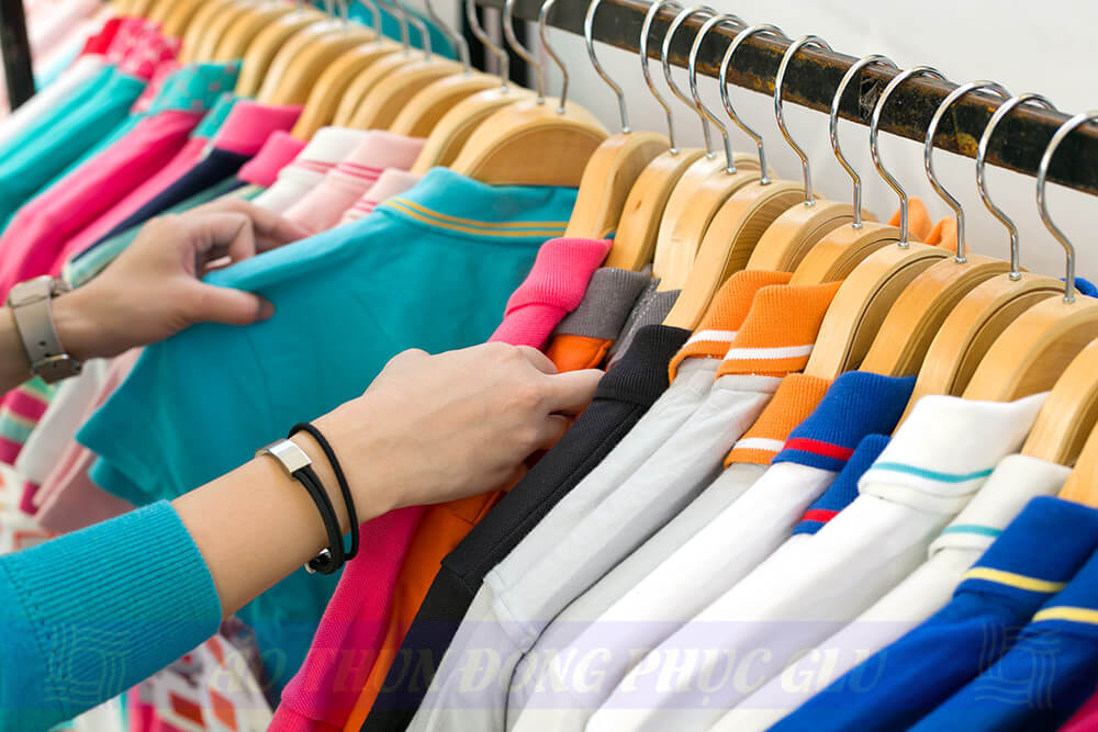 Nhiều mẫu áo thun đẹp để khách hàng lựa chọn