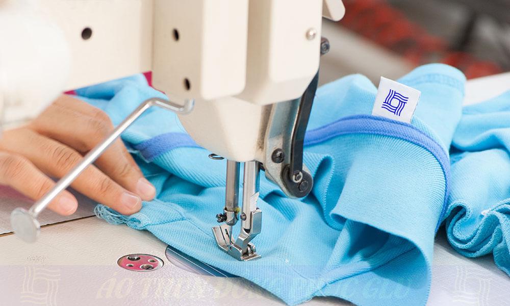 May áo thun đồng phục công ty vải cá sấu cao cấp tại GLU