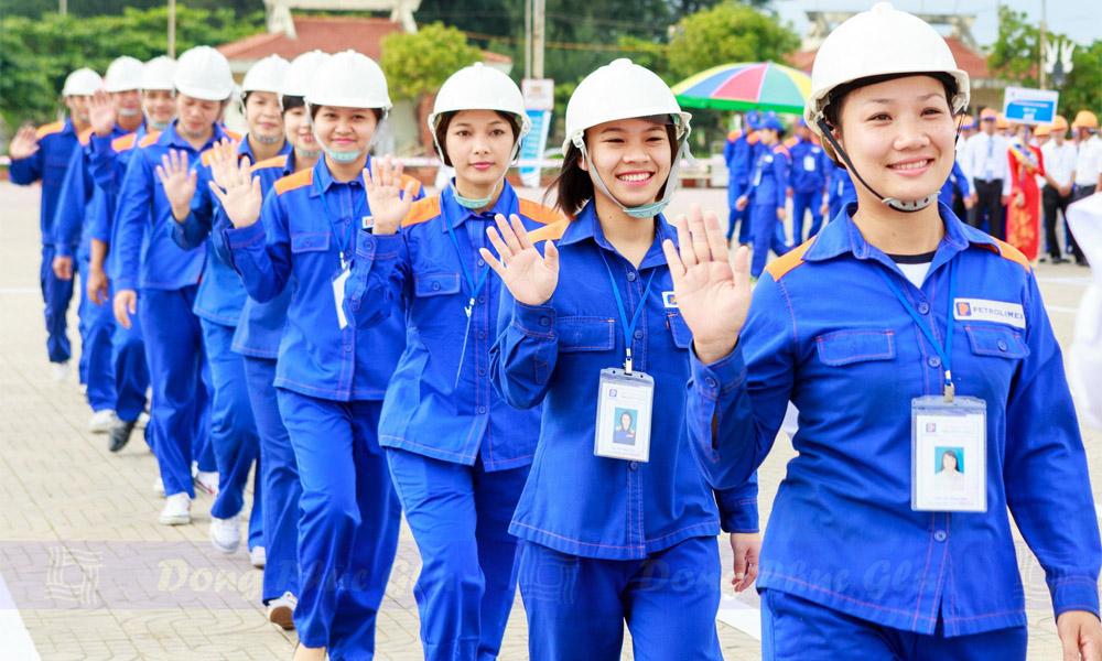Đồng phục công nhân xăng dầu