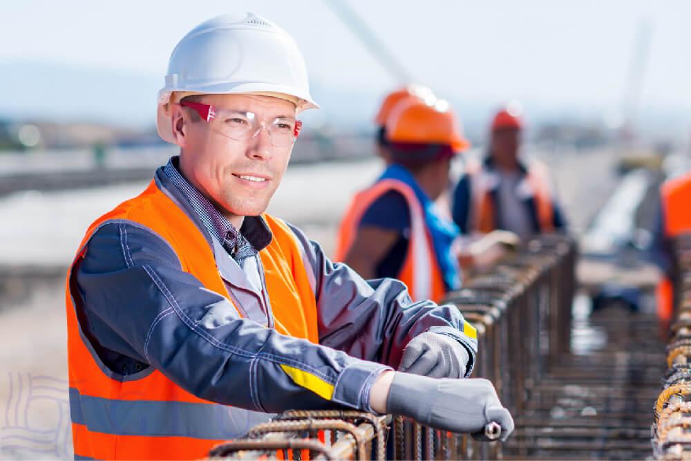 Đồng phục bảo hộ cho kĩ sư, công nhân xây dựng