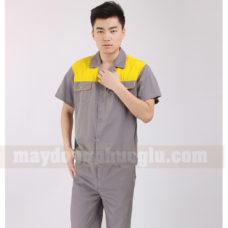 Dong Phuc Cong Nhan CN103 may áo công nhân