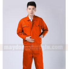 Dong Phuc Cong Nhan CN107 may áo công nhân