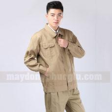 Dong Phuc Cong Nhan CN114 may áo công nhân