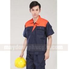 Dong Phuc Cong Nhan CN115 may áo công nhân