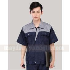 Dong Phuc Cong Nhan CN124 may áo công nhân
