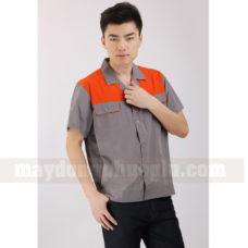 Dong Phuc Cong Nhan CN130 may áo công nhân