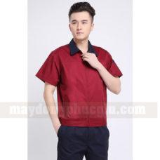 Dong Phuc Cong Nhan CN134 may áo công nhân