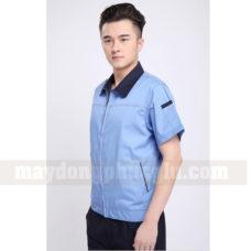 Dong Phuc Cong Nhan CN136 may áo công nhân