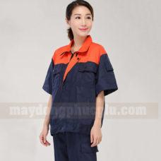 Dong Phuc Cong Nhan CN142 may áo công nhân
