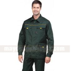 Dong Phuc Cong Nhan CN166 may áo công nhân
