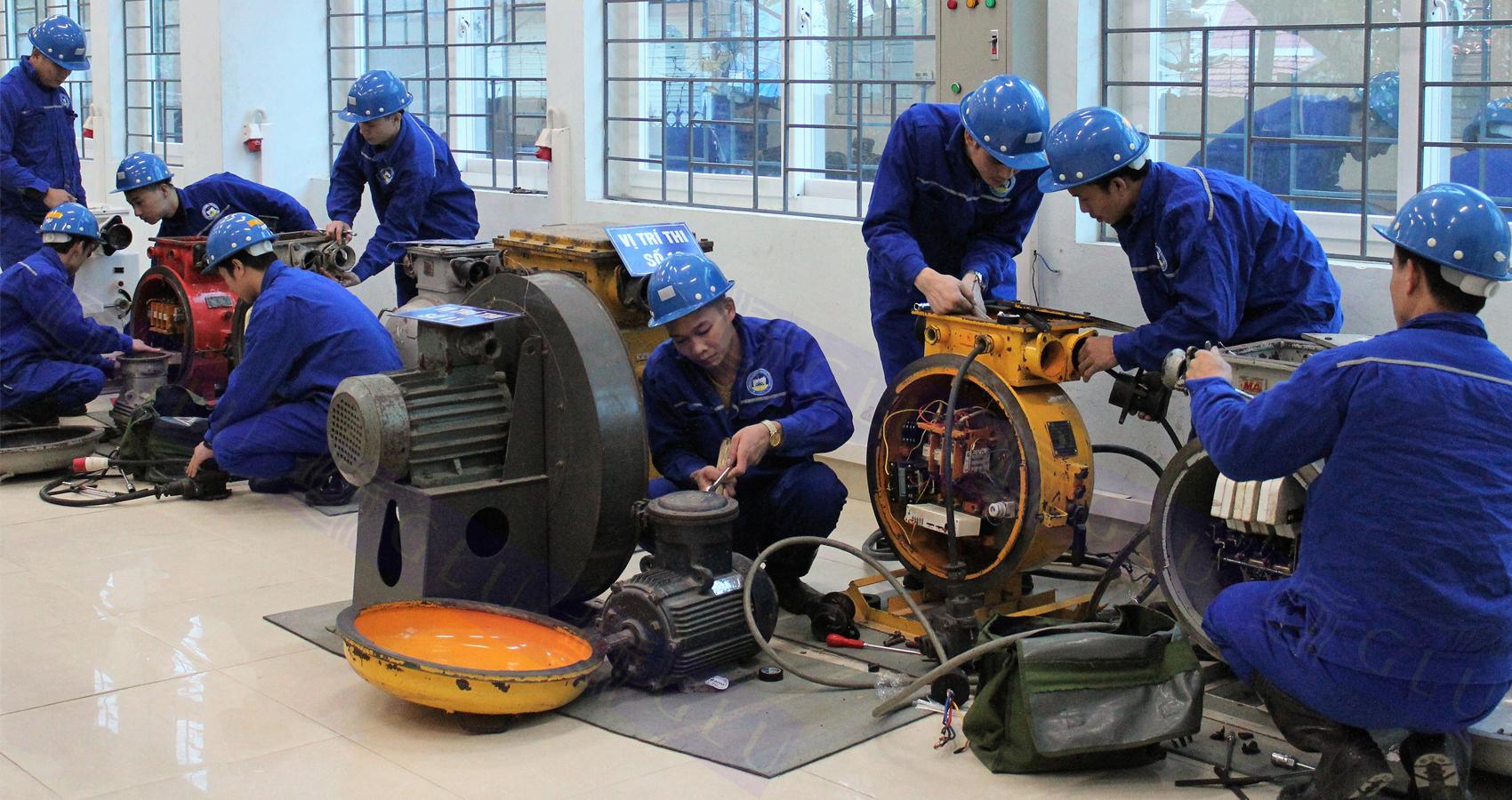 Quan ao dong phuc cong nhan GLU 117 mẫu áo công nhân