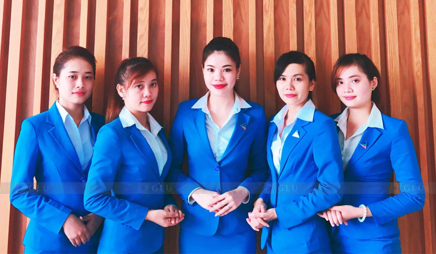 Banner ao dong phuc cong so GLU 06 áo đồng phục công ty đẹp