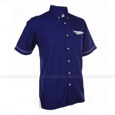 Ao So Mi Dong Phuc SM136 may áo sơ mi đồng phục