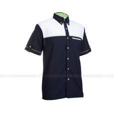 Ao So Mi Dong Phuc SM141 may áo sơ mi đồng phục