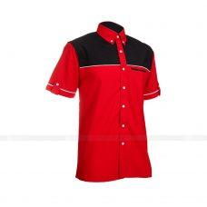 Ao So Mi Dong Phuc SM142 may áo sơ mi đồng phục