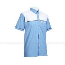 Ao So Mi Dong Phuc SM144 may áo sơ mi đồng phục