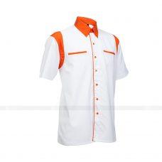 Ao So Mi Dong Phuc SM147 may áo sơ mi đồng phục