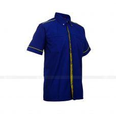 Ao So Mi Dong Phuc SM156 may áo sơ mi đồng phục