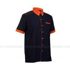 Ao So Mi Dong Phuc SM160 may áo sơ mi đồng phục