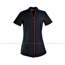 Ao So Mi Dong Phuc SM288 may áo sơ mi nữ