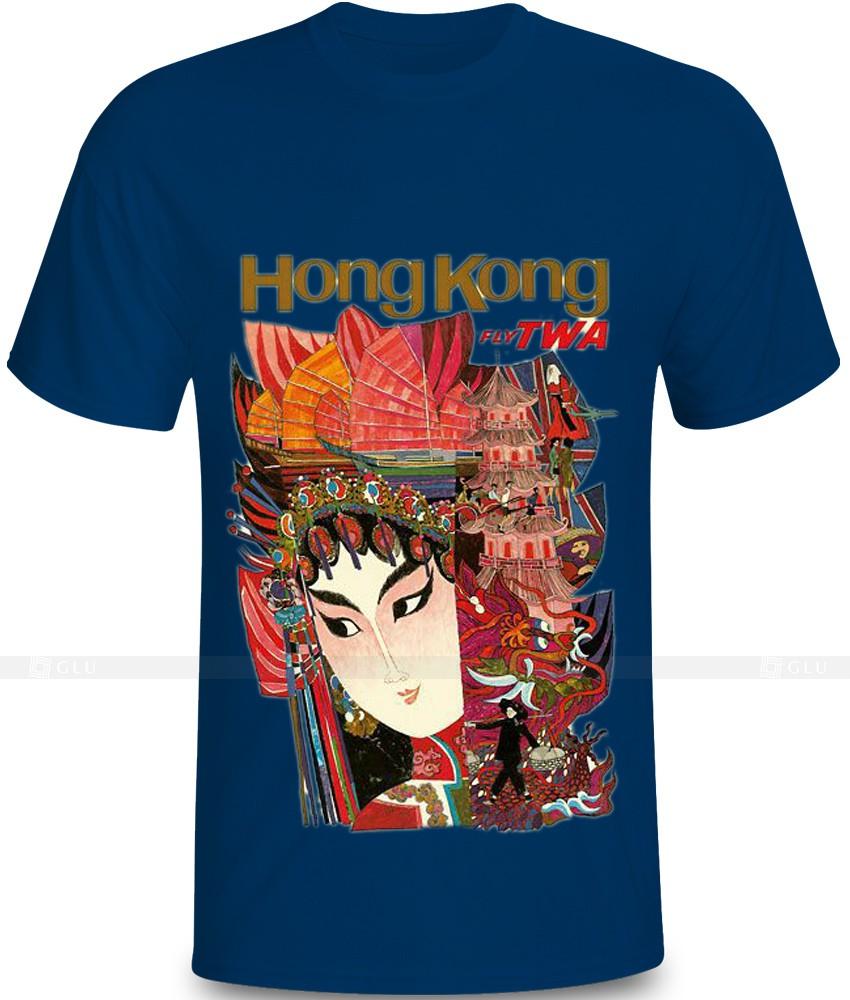 Ao Thun In Hinh GLU IH532