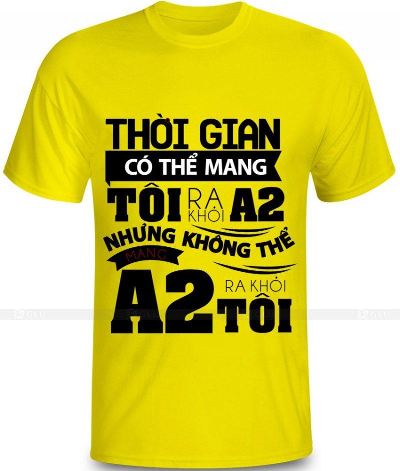 Ao Thun In Hinh GLU IH784