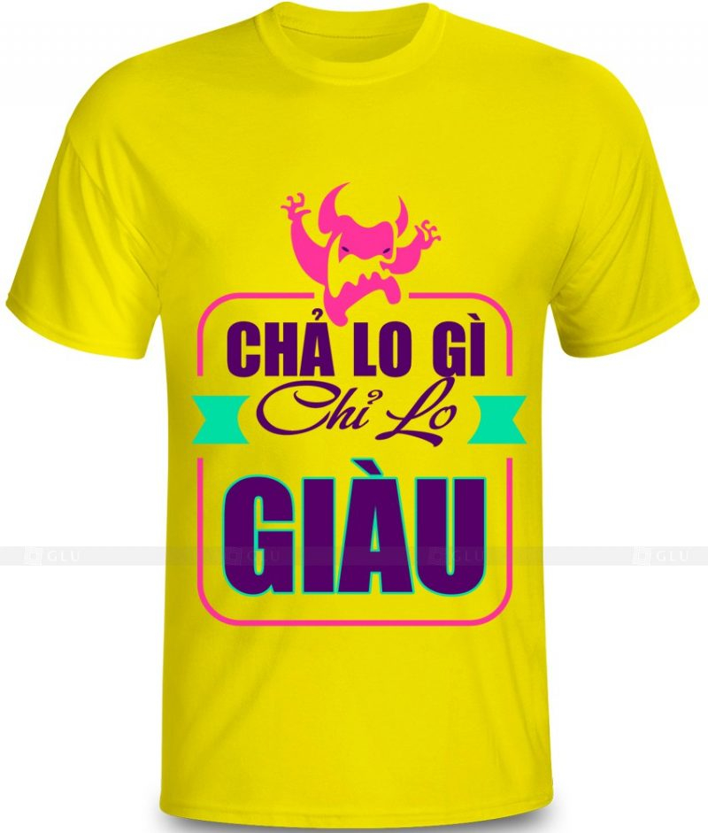 Ao Thun In Hinh GLU IH785