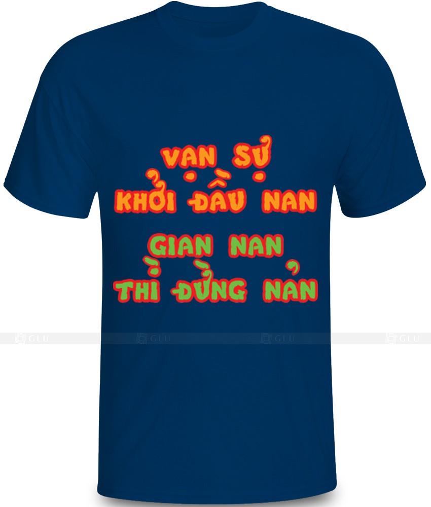 Ao Thun In Hinh GLU IH801