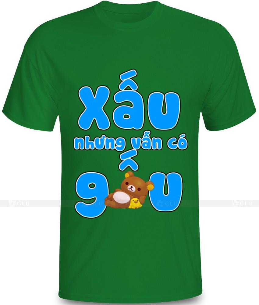 Ao Thun In Hinh GLU IH811