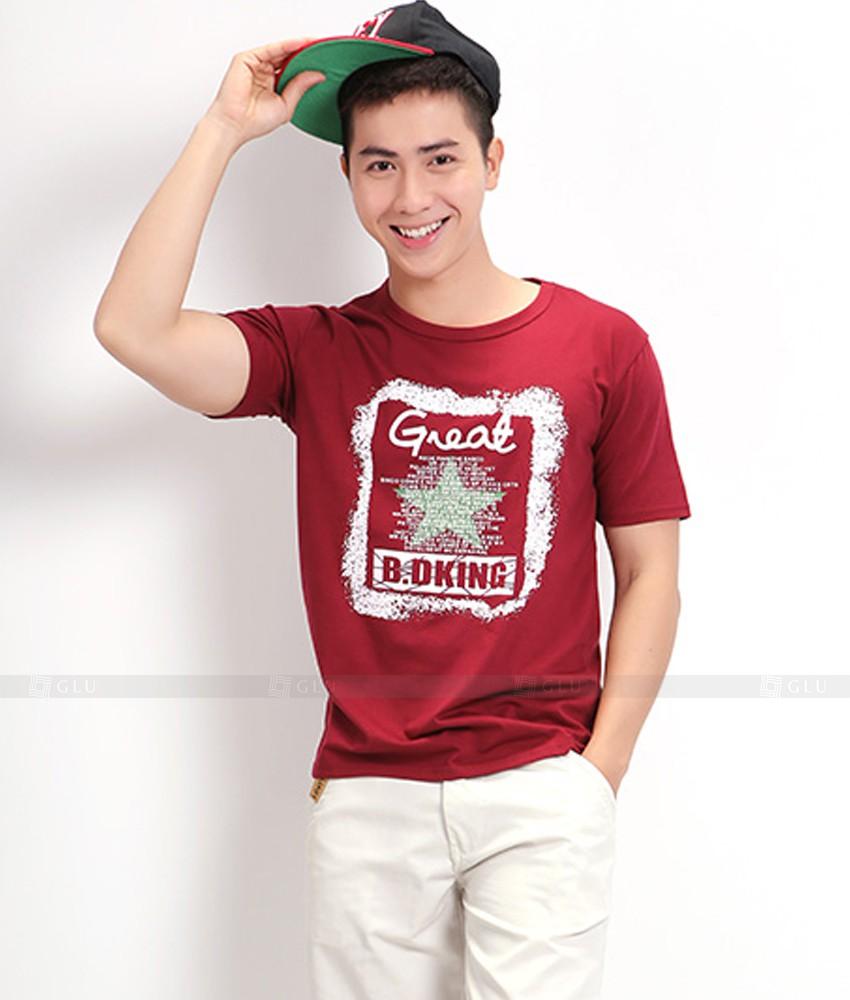 Ao Thun Nam Co Tron GLU TR01