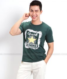 Ao Thun Nam Co Tron GLU TR03