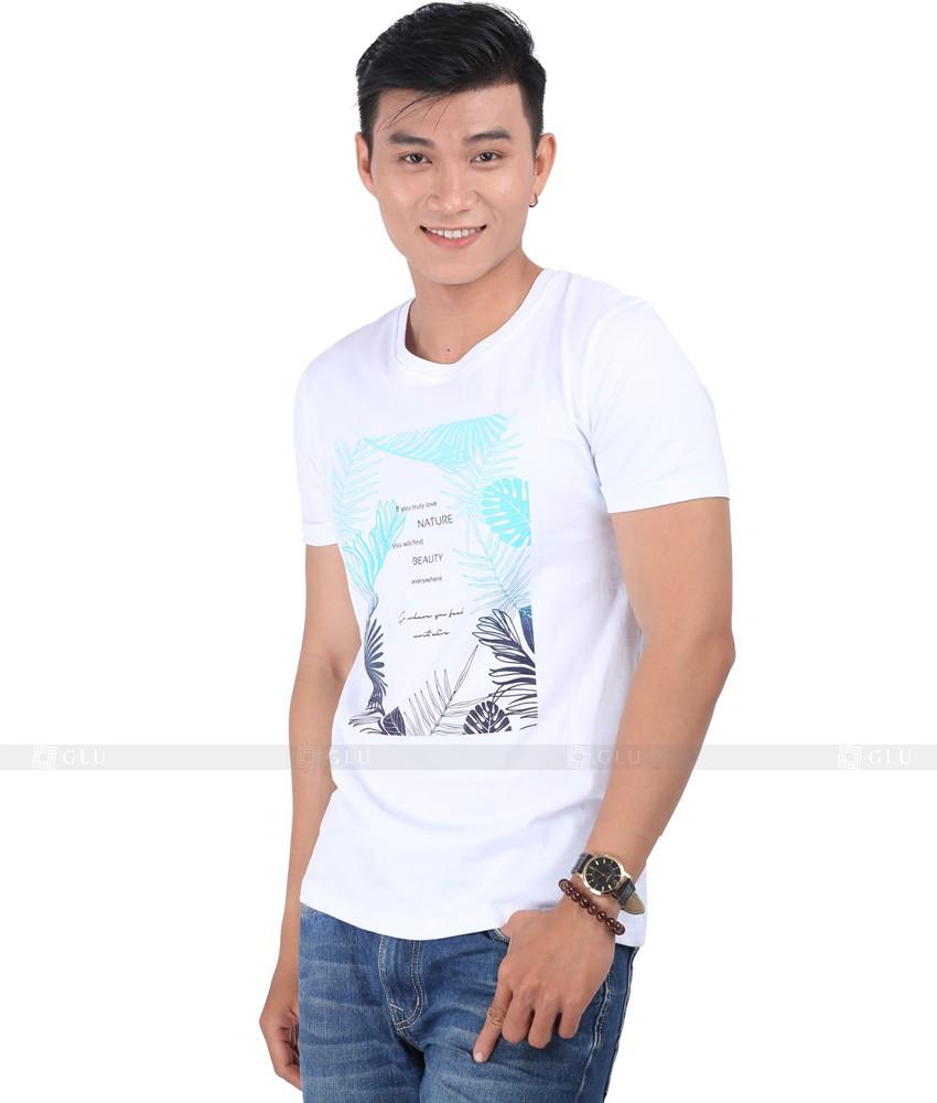 Ao Thun Nam Co Tron GLU TR100
