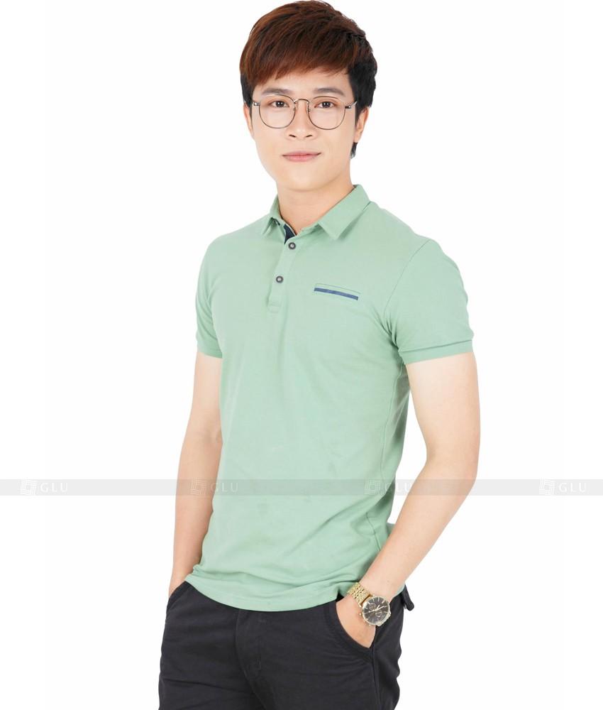 Ao Thun Nam Co Tron GLU TR104