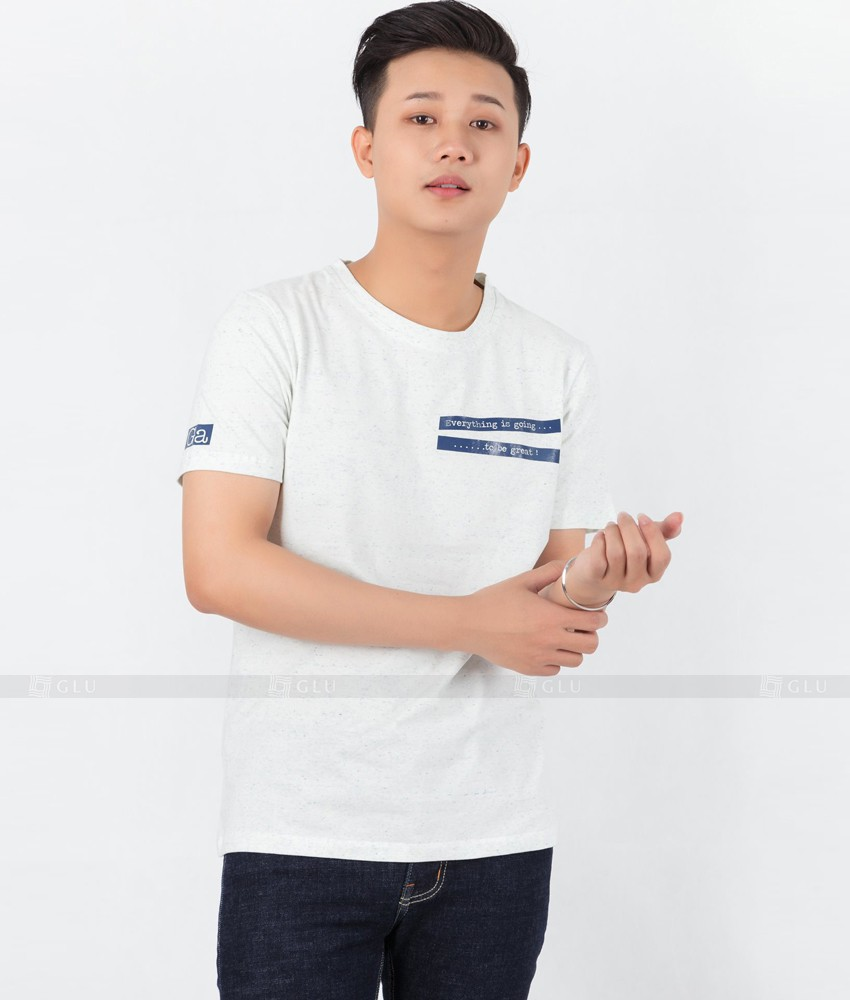 Ao Thun Nam Co Tron GLU TR106